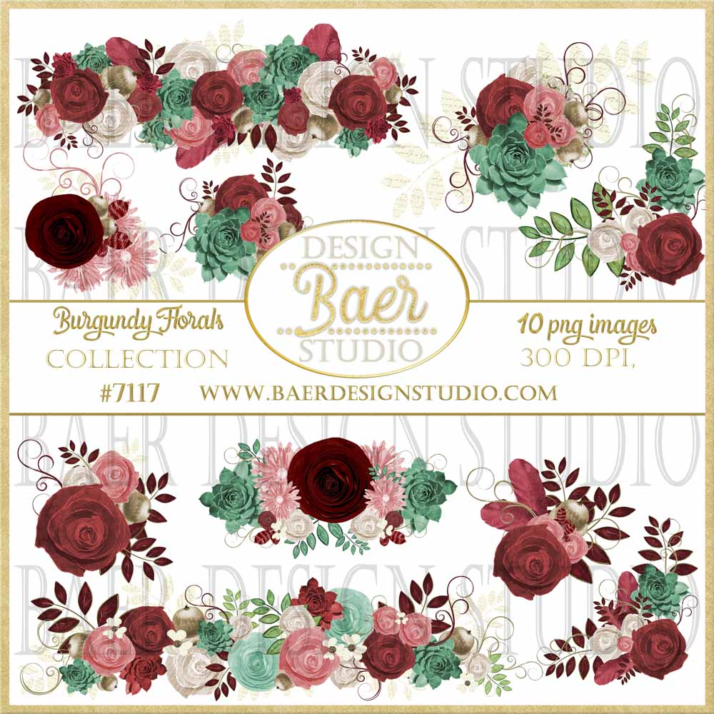 burgundy roses digital clipart succulent clip art roses clipart rh baerdesignstudio com digital clipart for sale digital clip art free downloads