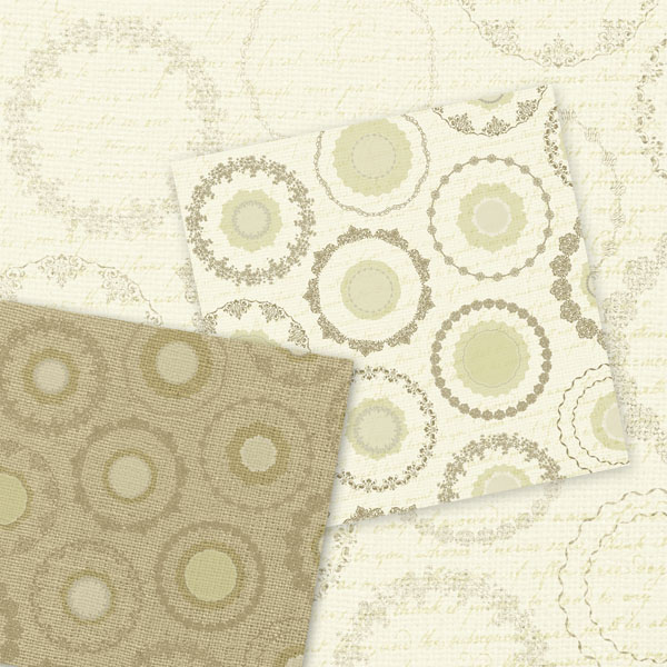 Doily Paper Burlap And Lace Digital Paper Rustic Digital Scrapbook